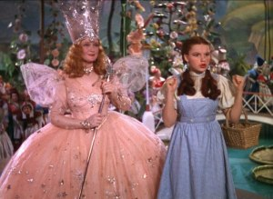 wizard of oz - dorothy and glinda